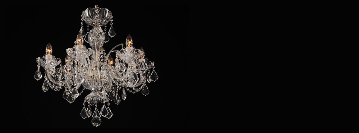 Křišťálové lustry Lucky Glass