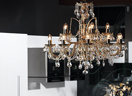 Chandelier CH-12 Coated crystal-D