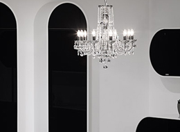 Chandelier CH-10 Coated crystal-DS