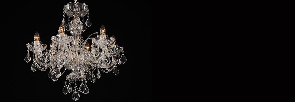 Bohemian crystal chandeliers